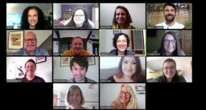 Inclusive Employers team on Zoom