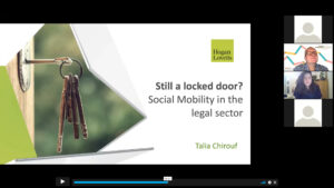 Hogan Lovells powerpoint on social mobility
