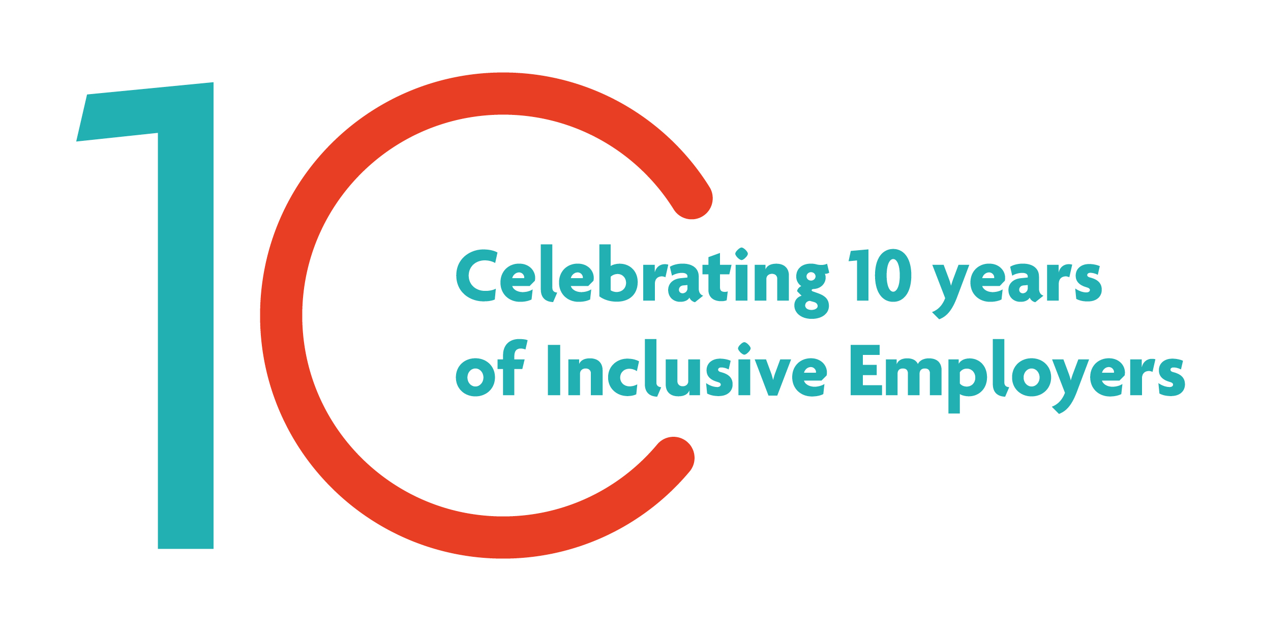 Celebrating 10 years of Inclusive Employers