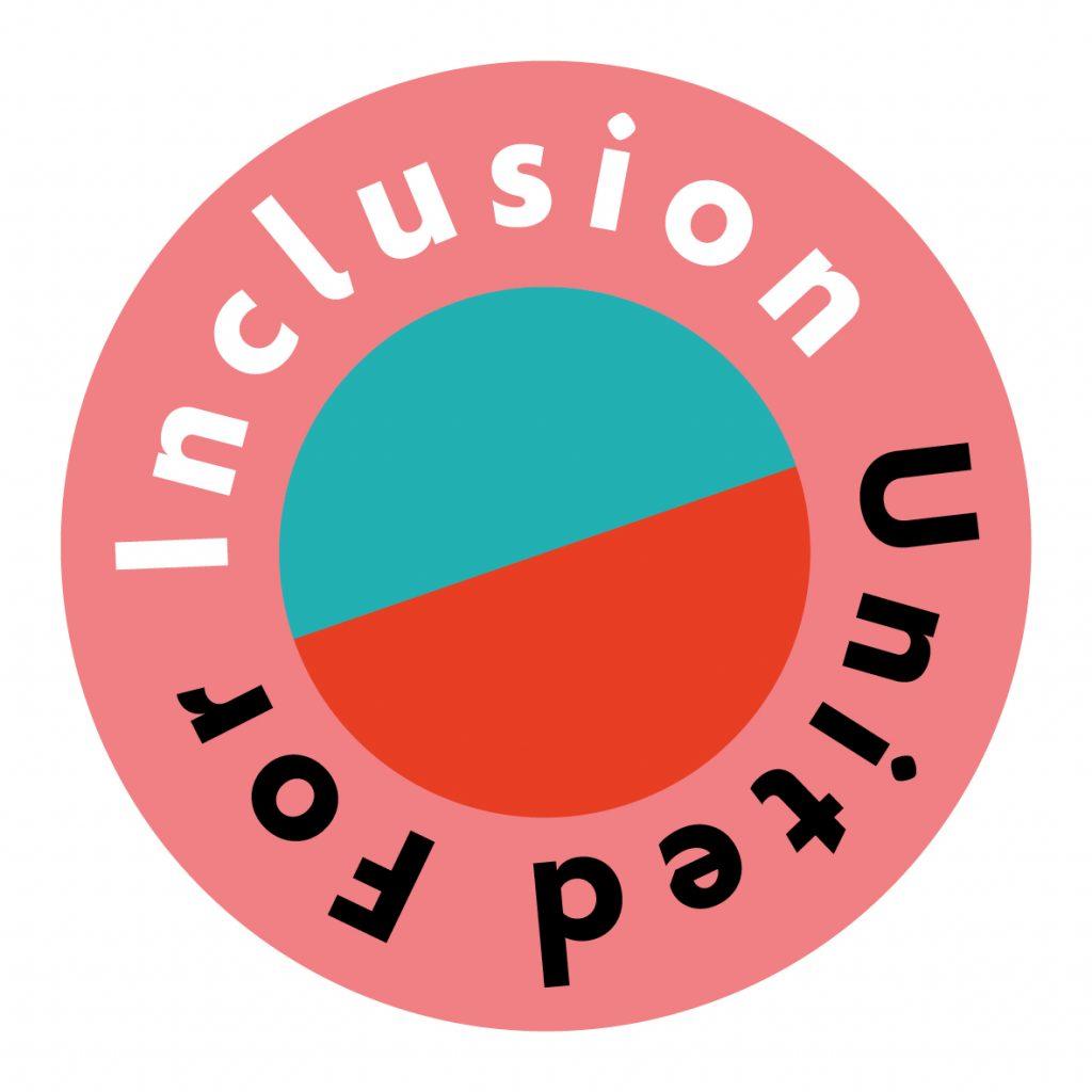 United for Inclusion button