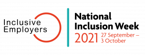 National Inclusion Week 2021 logo - 27 September - 3 October