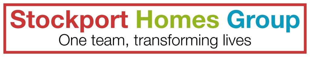 Stockport homes group logo